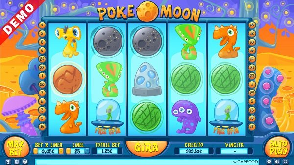 Poke Moons Slot from COPECOD