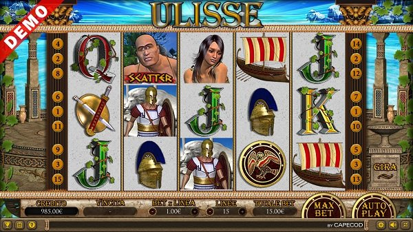 Ulisse Slot Machine CAPECOD