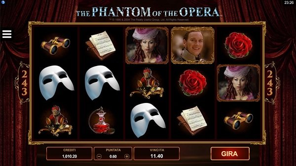 The Phantom of the Opera Slot | Microgaming