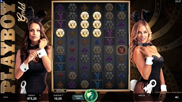 Playboy Gold Slot Machine in the BetWay Casino