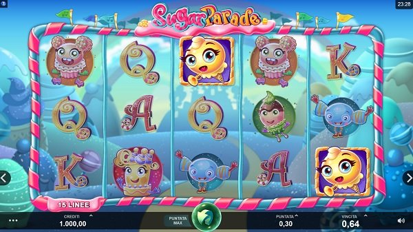 Sugar Parade Slot | Microgaming
